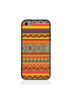 Чехол для iPhone 5/5s «Ацтекские орнаменты»